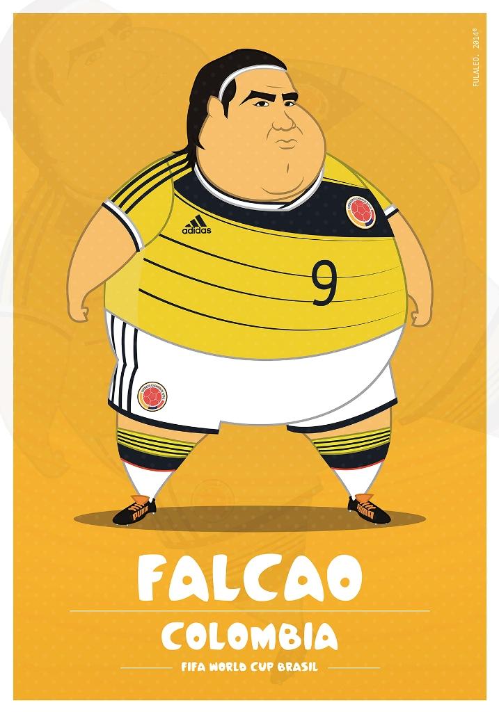 Толстые футболисты чемпионата мира в Бразилии 6
