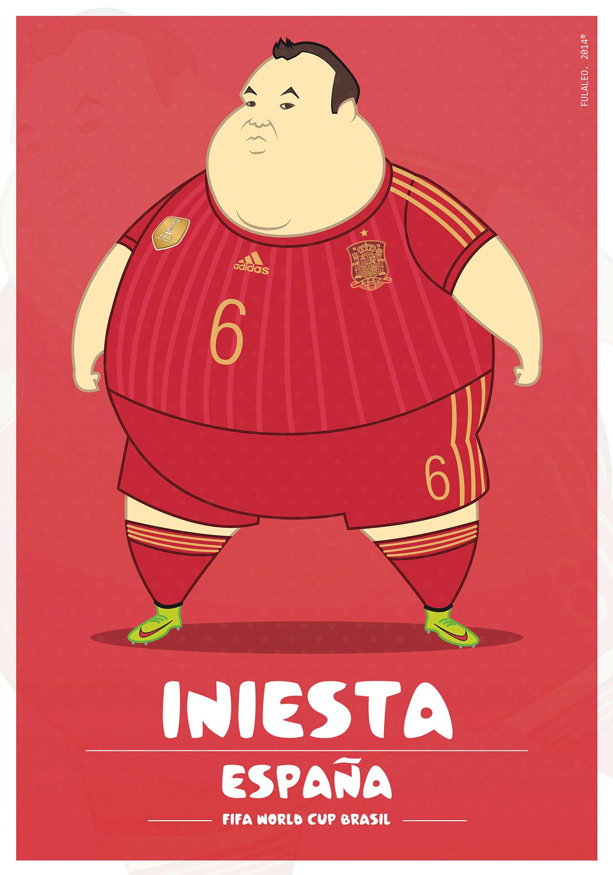 Толстые футболисты чемпионата мира в Бразилии 7