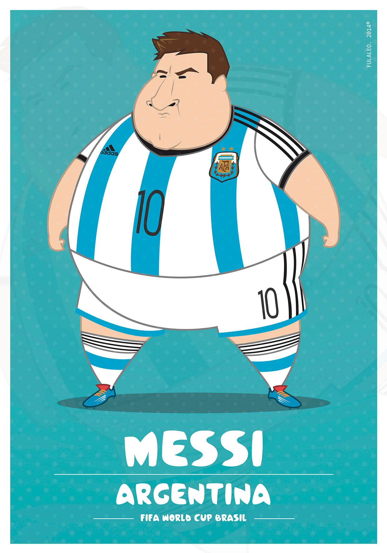 Толстые футболисты чемпионата мира в Бразилии 9