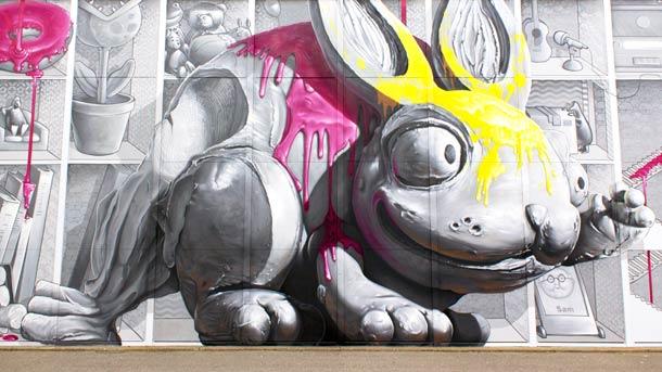яркий стрит-арт от Nevercrew 16