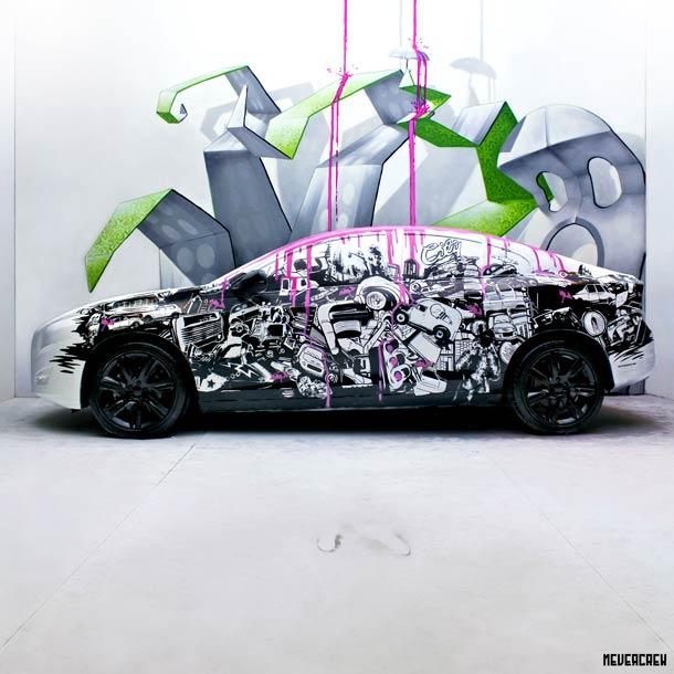 яркий стрит-арт от Nevercrew 3