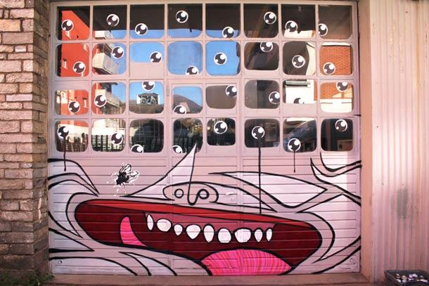 яркий стрит-арт от Nevercrew 7