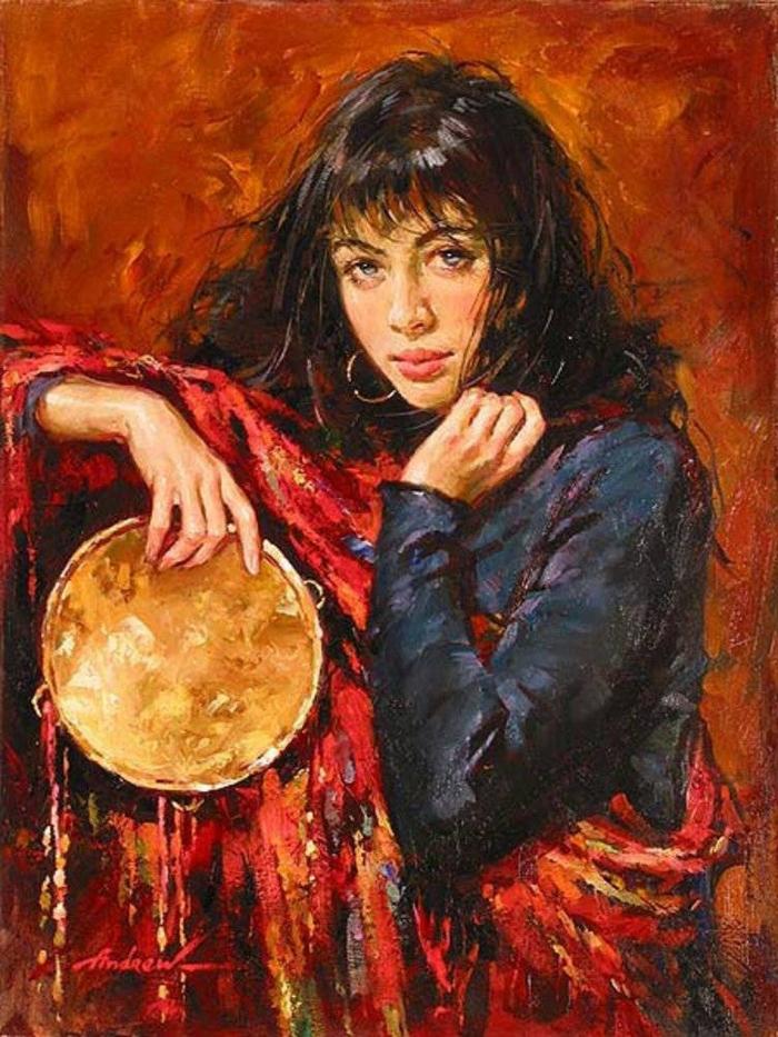 Андрей Атрошенко романтичный художник-импрессионист 1