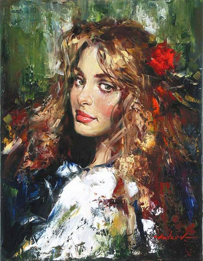 Андрей Атрошенко романтичный художник-импрессионист 10