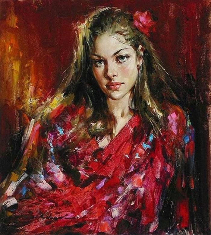 Андрей Атрошенко романтичный художник-импрессионист 11