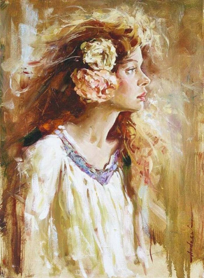 Андрей Атрошенко романтичный художник-импрессионист 12