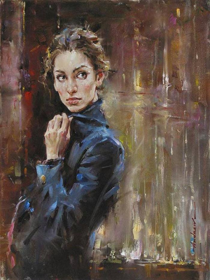 Андрей Атрошенко романтичный художник-импрессионист 14