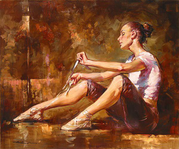 Андрей Атрошенко романтичный художник-импрессионист 15