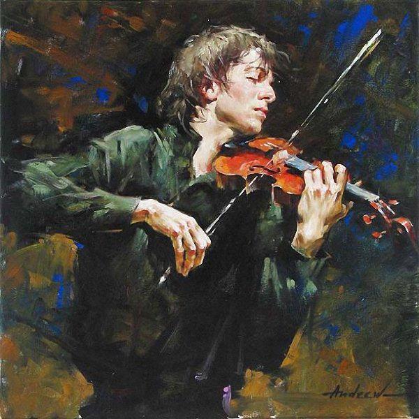 Андрей Атрошенко романтичный художник-импрессионист 16