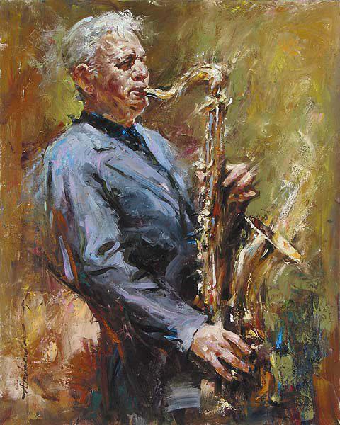 Андрей Атрошенко романтичный художник-импрессионист 17