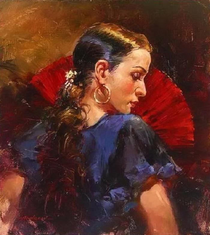 Андрей Атрошенко романтичный художник-импрессионист 18