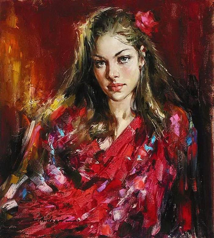 Андрей Атрошенко романтичный художник-импрессионист 19