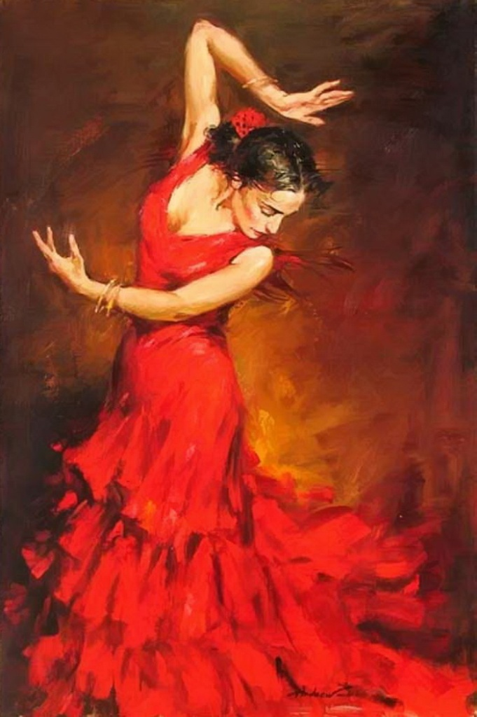 Андрей Атрошенко романтичный художник-импрессионист 22