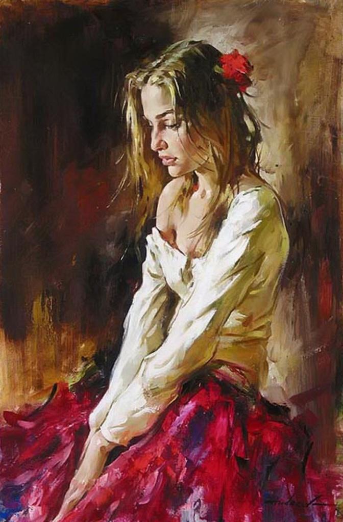 Андрей Атрошенко романтичный художник-импрессионист 24