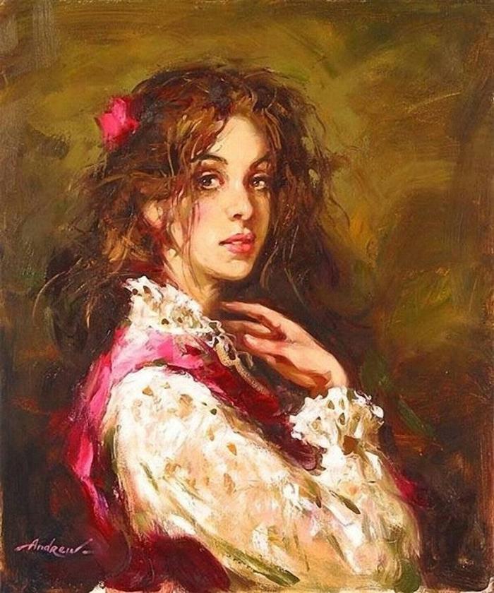 Андрей Атрошенко романтичный художник-импрессионист 25