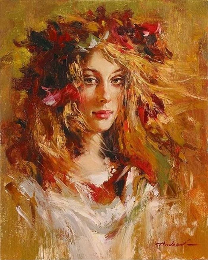 Андрей Атрошенко романтичный художник-импрессионист 27