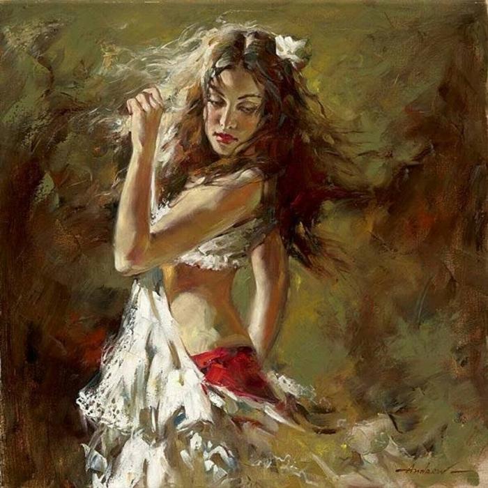 Андрей Атрошенко романтичный художник-импрессионист 3