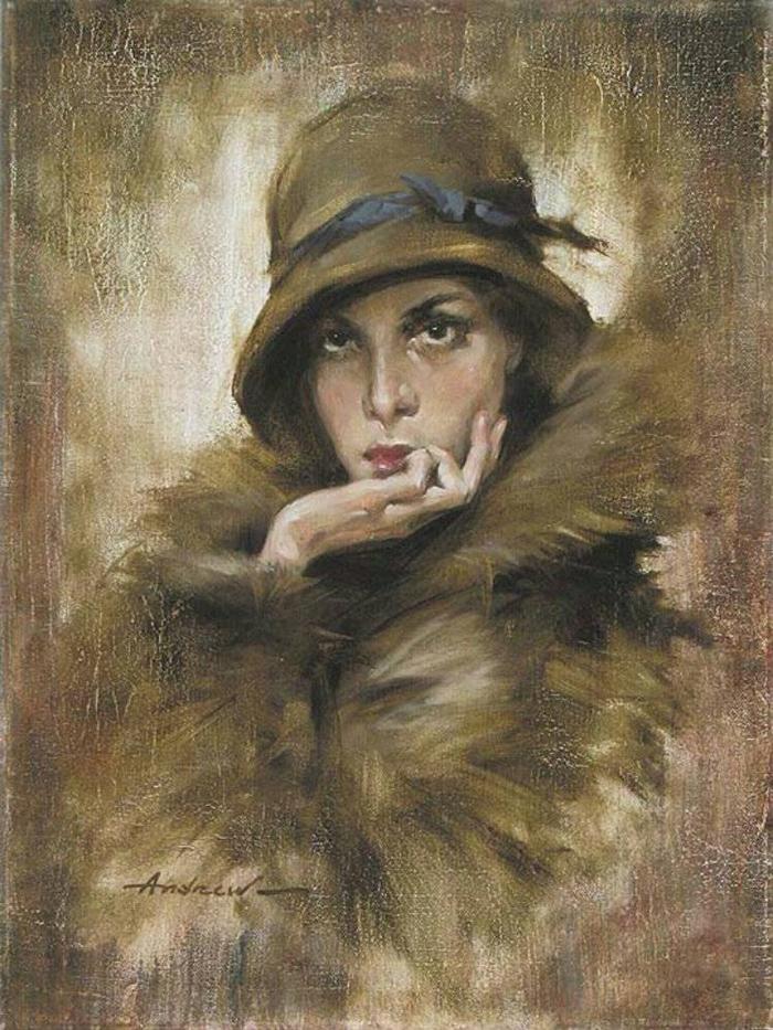 Андрей Атрошенко романтичный художник-импрессионист 6