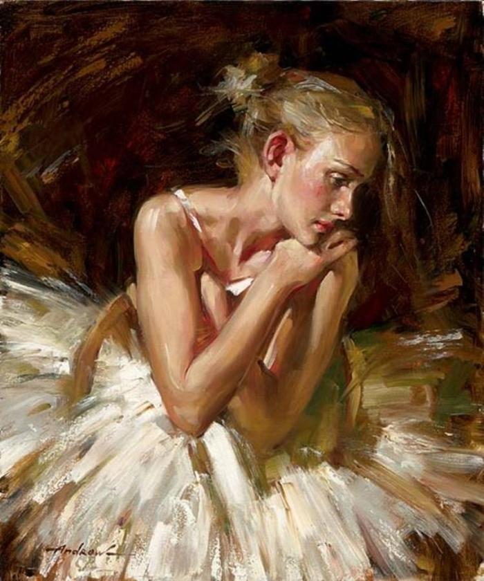 Андрей Атрошенко романтичный художник-импрессионист 8