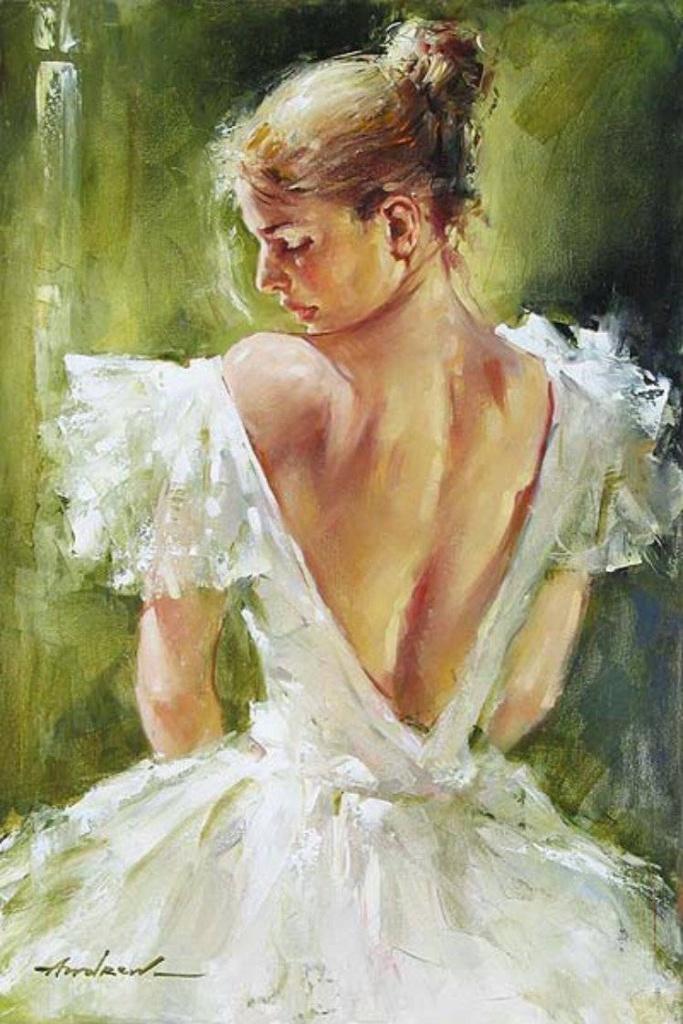 Андрей Атрошенко романтичный художник-импрессионист 9