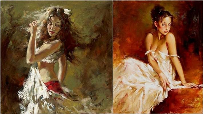 Андрей Атрошенко романтичный художник-импрессионист