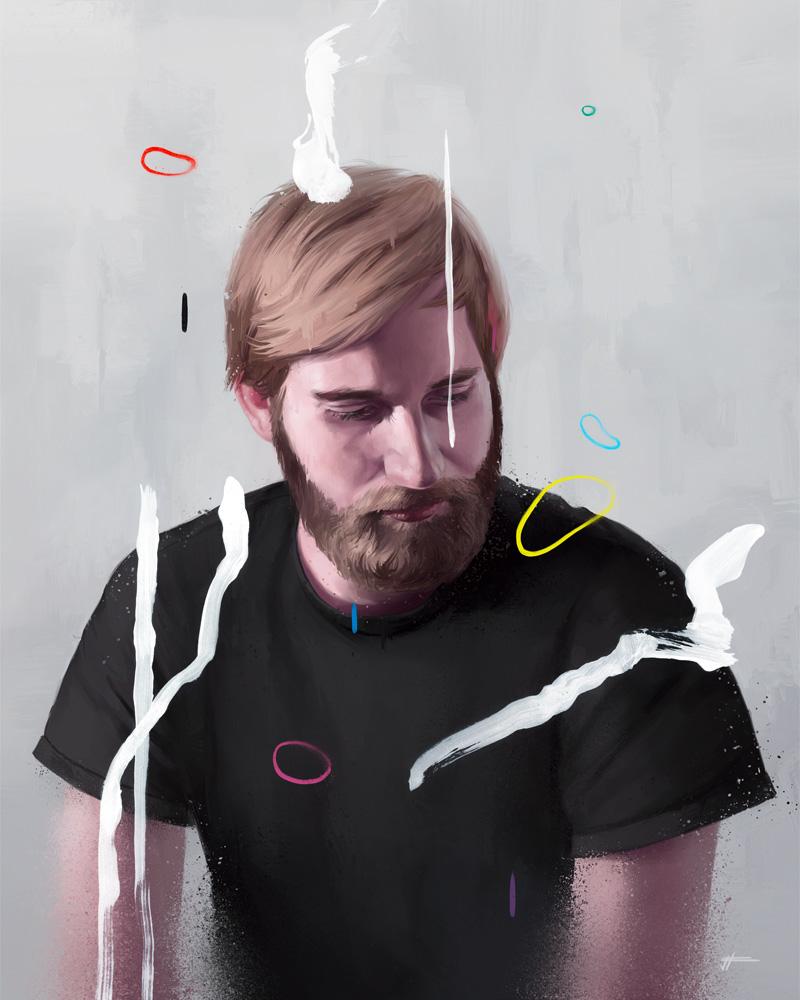 Цифровая живопись Валентина Фишера 3