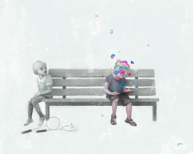 Цифровая живопись Валентина Фишера 8