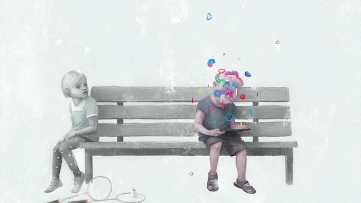 Цифровая живопись Валентина Фишера