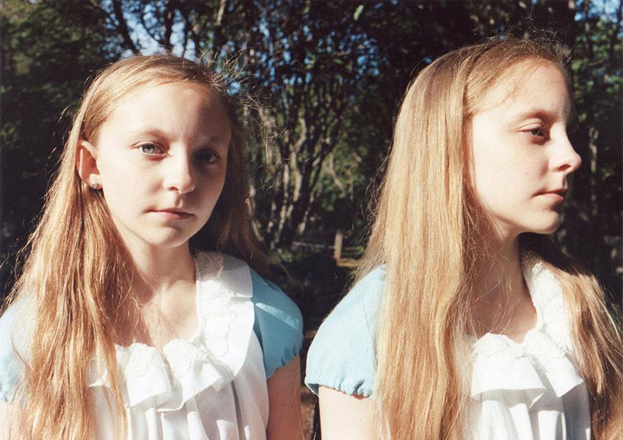 Мистические снимки ирландских близняшек Эрны и Хрефны от Арико Инаока 14