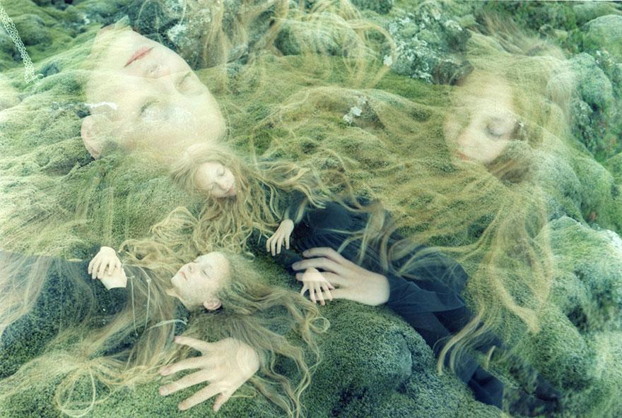 Мистические снимки ирландских близняшек Эрны и Хрефны от Арико Инаока 15