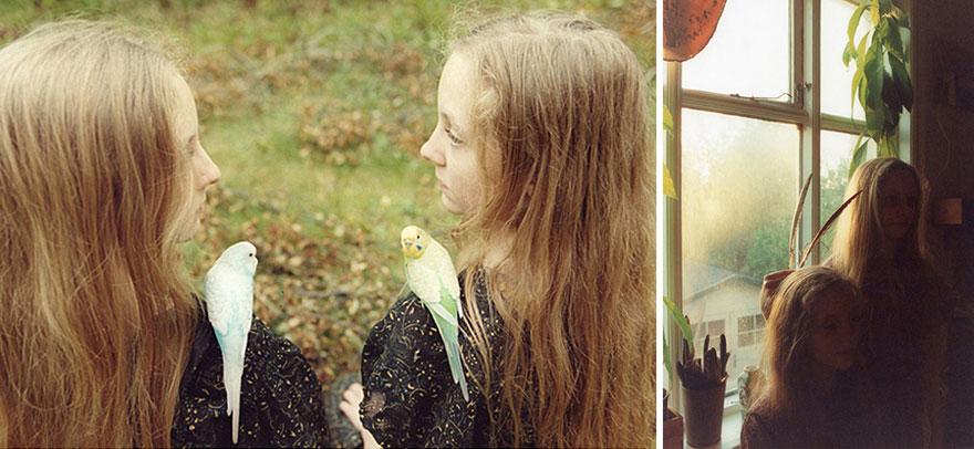 Мистические снимки ирландских близняшек Эрны и Хрефны от Арико Инаока 17
