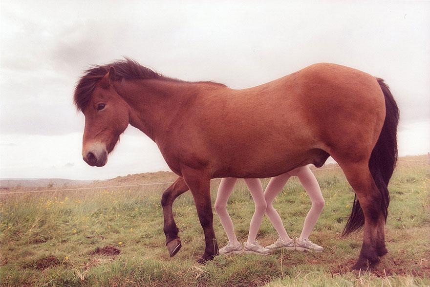 Мистические снимки ирландских близняшек Эрны и Хрефны от Арико Инаока 7