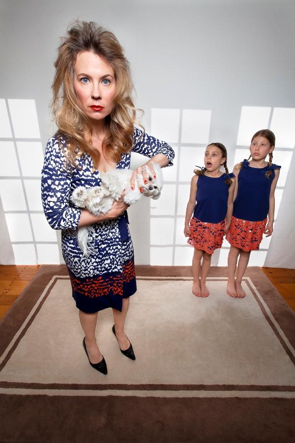 Домашнее счастье черный юмор мамочкиных портретов 2