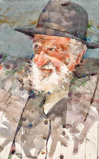 Фигуративная живопись художника-акварелиста Ted Nuttall 1