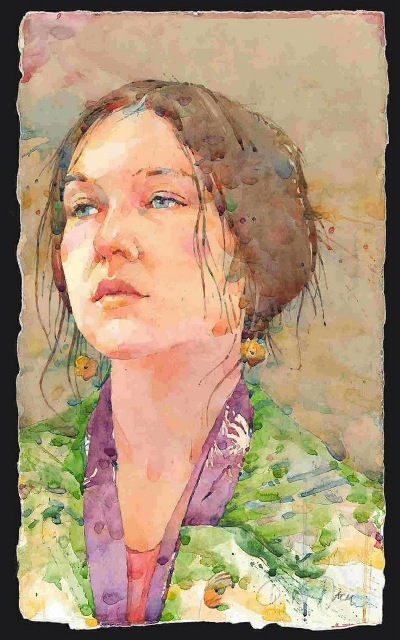 Фигуративная живопись художника-акварелиста Ted Nuttall 11