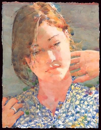 Фигуративная живопись художника-акварелиста Ted Nuttall 12