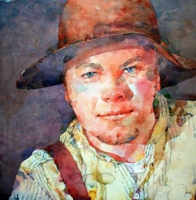 Фигуративная живопись художника-акварелиста Ted Nuttall 14