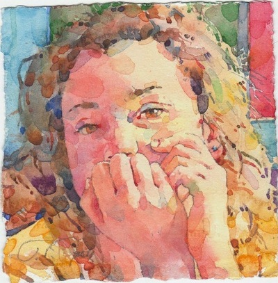 Фигуративная живопись художника-акварелиста Ted Nuttall 15