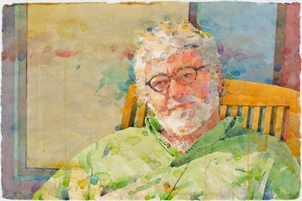 Фигуративная живопись художника-акварелиста Ted Nuttall 16