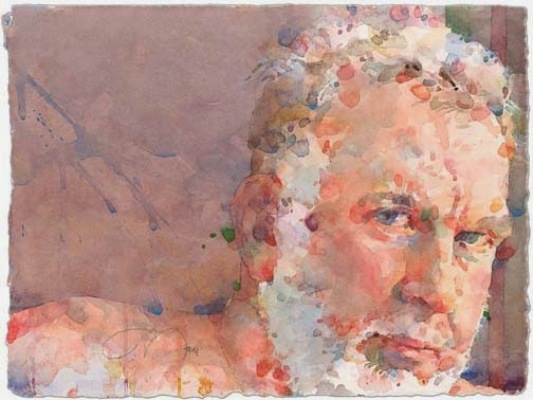 Фигуративная живопись художника-акварелиста Ted Nuttall 2