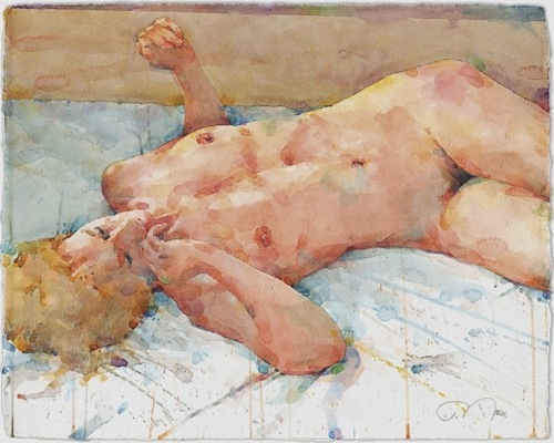 Фигуративная живопись художника-акварелиста Ted Nuttall 23