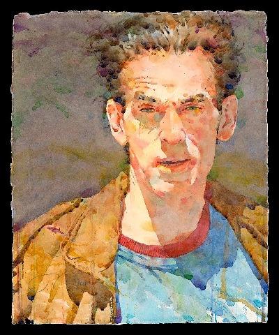 Фигуративная живопись художника-акварелиста Ted Nuttall 24