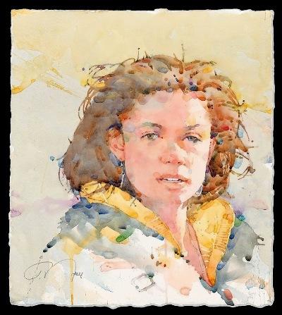 Фигуративная живопись художника-акварелиста Ted Nuttall 25