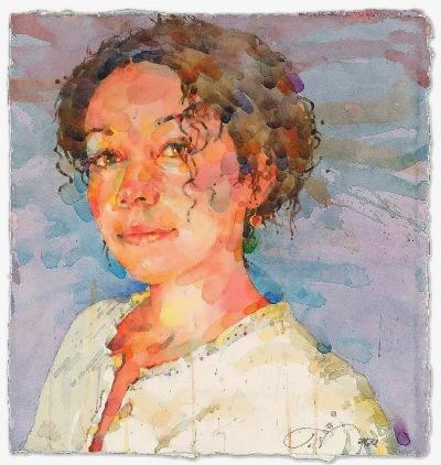 Фигуративная живопись художника-акварелиста Ted Nuttall 26
