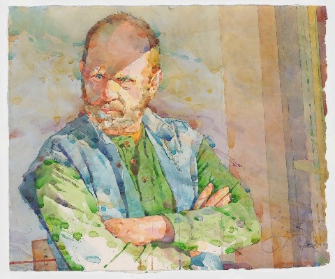 Фигуративная живопись художника-акварелиста Ted Nuttall 28