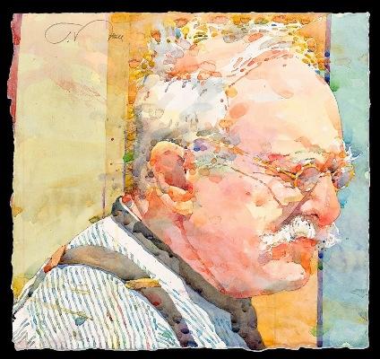 Фигуративная живопись художника-акварелиста Ted Nuttall 29