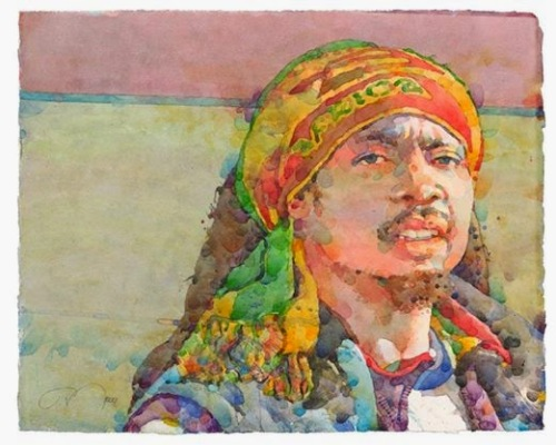 Фигуративная живопись художника-акварелиста Ted Nuttall 3