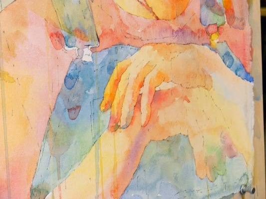 Фигуративная живопись художника-акварелиста Ted Nuttall 30