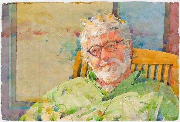 Фигуративная живопись художника-акварелиста Ted Nuttall 31