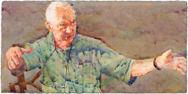 Фигуративная живопись художника-акварелиста Ted Nuttall 34